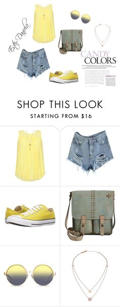 """completo 30"" by ester-daniela on Polyvore featuring moda, WearAll, Converse, Patricia Nash, Matthew Williamson e Michael Kors"