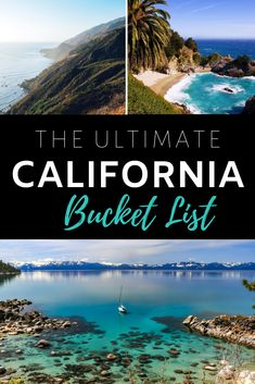 California Bucket List - 50 Things To Do in the Golden State! The ultimate California bucket list. California Vacation, Visit California, California Coast, Southern California, California Road Trips, California Tours, California Getaways, California Travel Guide, Instagram Inspiration