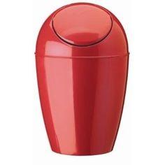 Sleek Red Resin Accessories Bathroom Simons Pinterest