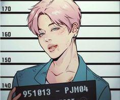 Foi preso por me dar tantos tiros, não é mesmo senhor Park Jimin?
