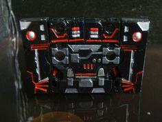 Carnage #custom #transformers #decepticon cassette alt mode  #customtransformer #g1 #creative #designer