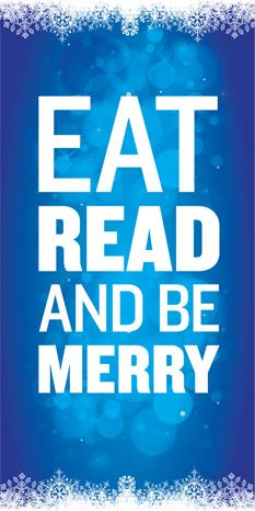 #christmas #holidays Eat Read Be Merry | American Booksellers Association