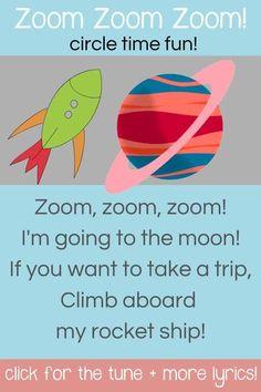 Preschool Space Song!