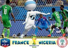 Pour le match France - Nigéria, des 8ème de finale de la Coupe du Monde, Super Yonis se transforme en attaquant de pointe. Yonis-Shop.com
