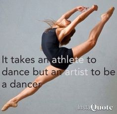 . dancing is not a sport, its a form of art.