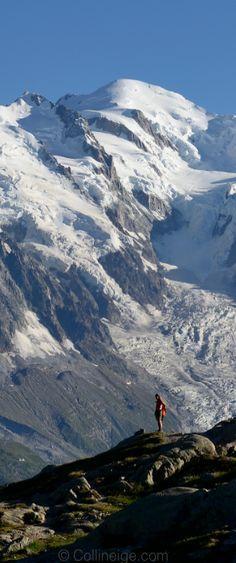 Beautiful Mont-Blanc 4810m   Vue des Aiguilles Rouges   Photo Philippe Saharoff @philsaharoff   Collineige.com
