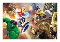 Lego Marvel Super Heroes Wall Art Canvas Print 01