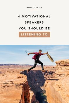 4 Motivational Speakers You Should Be Listening To Comparing Yourself To Others, Finding Yourself, Best Motivational Speakers, Self Development Books, Eric Thomas, Feel Like Giving Up, Stay In Shape, Spiritual Life, How To Stay Motivated