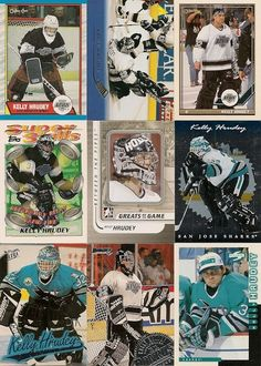 9 DIFFERENT KELLY HRUDEY HOCKEY CARDS +FREE Shipping!