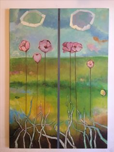 Natura ll oleo sobre lienzo 140*160cms