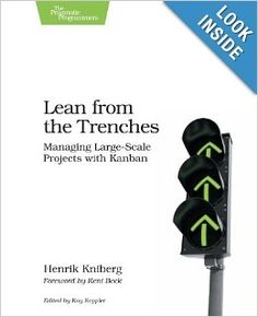 Lean from the Trenches: Managing Large-Scale Projects with Kanban is a book about a real public service project that was experiencing problems and how a team solved it. It is a story of how a 60-person project team developed a complex software system for the Swedish Police using Lean and Kanban practices. It is a two-part book that shared an actual story in the first part and then lessons about Agile and Lean principles in the second part as they were applied during the project.