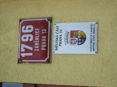 Czech Republic Prague building number, street name and cadastre information