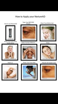 How to apply Nerium