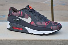Nike Air Max 90 Premium Tape 'Red Camo'