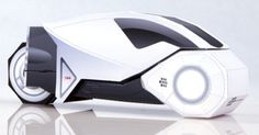 Papercraft TRON – White Light Cycle    http://www.paper-toy.fr/2013/01/10/papercraft-tron-white-light-cycle/    #papertoys #papercraft #paper #arts #toys #crafts #Tron #LightCycle #DIY