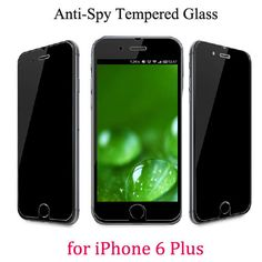 or Privacy Anti-spy Tempered Glass Film Screen Protector for iPhone 6 Plus inch Galaxy Phone, Samsung Galaxy, Glass Film, Iphone6, Tempered Glass Screen Protector, Spy