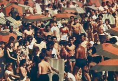 Цветные фотографии Кони-Айленд в начале 1960-х годов
