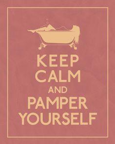 DIY – Prepare to Pamper Yourself