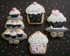 ❥ http://pinterest.com/martablasco/  Cupcakes cookies! #cookies #cupcakes
