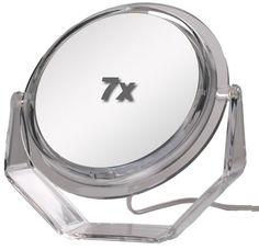 Zadro Surround Light 2000 Swivel Acrylic Vanity Lighted Makeup Mirror   seattleluxe.com