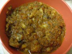 Cauliflour, Mushroom Korma