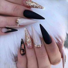 nails for prom black * nails for prom . nails for prom silver . nails for prom white . nails for prom pink . nails for prom black . nails for prom red dress . nails for prom neutral . nails for prom gold Stylish Nails, Trendy Nails, Glitter Nails, Fun Nails, Stelleto Nails, Claw Nails, Gradient Nails, Holographic Nails, Bling Nails