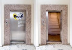 Clever Elevator advert - Becel Take action. Love your heart
