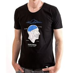 Brainstorming Tee Men's Black now featured on Fab.