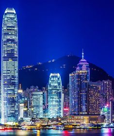 Hong Kong by Night | 21 Magnificent Photos That Will Place China On Your Bucket List