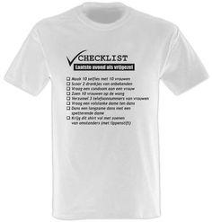 Heren vrijgezellen checklist 2