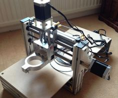 This CNC was created using parts bought though the Kickstarter project www.aquickcnc.com.Here is the Ended Kickstarted Project https://www.kickstarter.com/project...