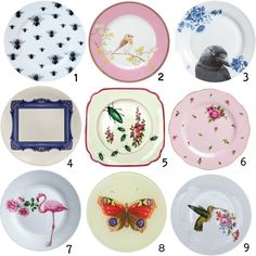 Pretty Plates, created by deardesigner on Polyvore