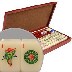 """American Mini-Mahjong / Mah Jongg - """"Travel Set"""""""