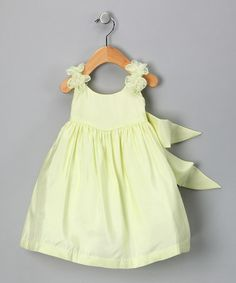 Take a look at this Sage Rosette Silk Dress - Infant, Toddler & Girls by Aisle Style: Flower Girl Attire on #zulily today!