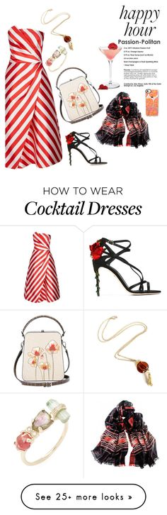 """""""Happy Hour"""" by taci42 on Polyvore featuring Ted Baker, Bertoni, Dolce&Gabbana, Black, Casetify, Jacquie Aiche and happyhour"""