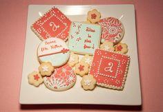 Biscuits d'anniversaire - Birthday cookies  www.MissCuit.com