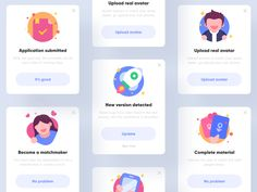 Blind date APP popup by ZhaoWei for UIGREAT Studio on Dribbble