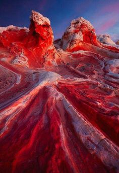 Valley of fire state park   frozen