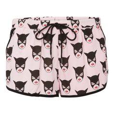 Short pyjama catwoman