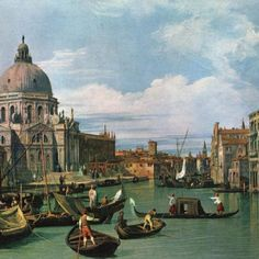 Canaletto - Venice Painting