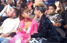 Ariana Grande and 'supportive' boyfriend Mac Miller enjoy the MTV VMAs Ariana Grande 2016, Ariana Grande Pictures, Frankie J Grande, Vmas 2016, Ariana Grande Boyfriend, Bae, Broadway, Mac Miller, Dangerous Woman