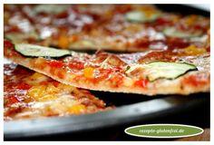 Pizzaboden knusperdünn! Mit Mix B von Schär gelingt Pizzaboden wunderbar! Das Rezept gibt es hier: www.rezepte-glutenfrei.de #glutenfrei #rezepte