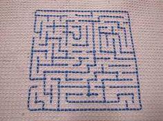 vohvelikangas - Google-haku Swedish Weaving, Needle And Thread, Textile Art, Art For Kids, Arts And Crafts, Embroidery, Diy, School, Needlepoint