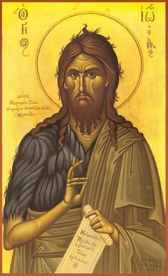 Chios, Orthodox Christianity, John The Baptist, Orthodox Icons, Catholic, Saints, Saint John, Sacramento, Art