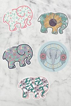 April Sticker Pack - Ivory Ella - The sunflower! Tumblr Stickers, Love Stickers, Ivory Ella Stickers, Save The Elephants, New Sticker, Journal Stickers, Aesthetic Stickers, Girl Gifts, Packing