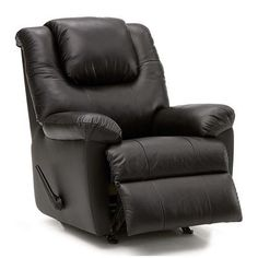 Palliser Furniture Tundra Rocker Recliner Upholstery: All Leather Protected - Tulsa II Stone, Leather Type: Leather PVC/Match, Type: Manual