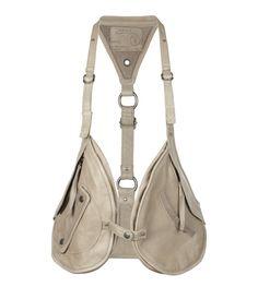 Rhyder Utility Vest, Women, Leather, All Saints