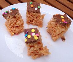 Great Bloggers Bake Off Week 3: Toffee Crisp Petit Fours | Jo's Kitchen