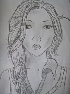 girl's face 5