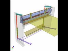 Mechanism for adjusting crank radius 1a - YouTube Mechanical Gears, Shearing, Engineering, Sheet Metal, Robotics, Youtube, Tools, Heavy Machinery, Houses